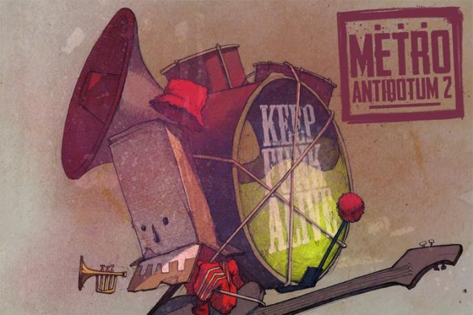 "Metro feat. Te-Tris, Ras & DJ Ike ""Wojna o sos"" – audio"