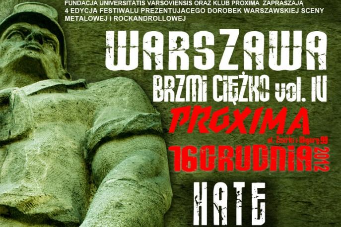 VI edycja Warszawa Brzmi Ciężko
