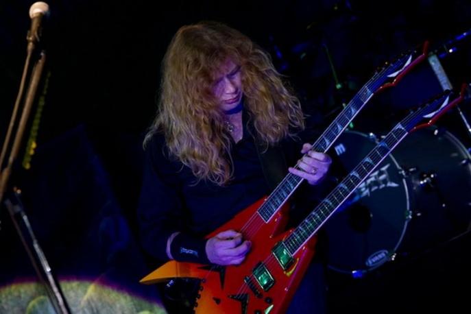 Dave Mustaine ma własną tarantulę