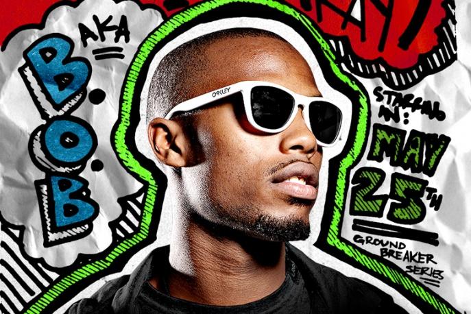 B.o.B. szykuje rockową EP-kę