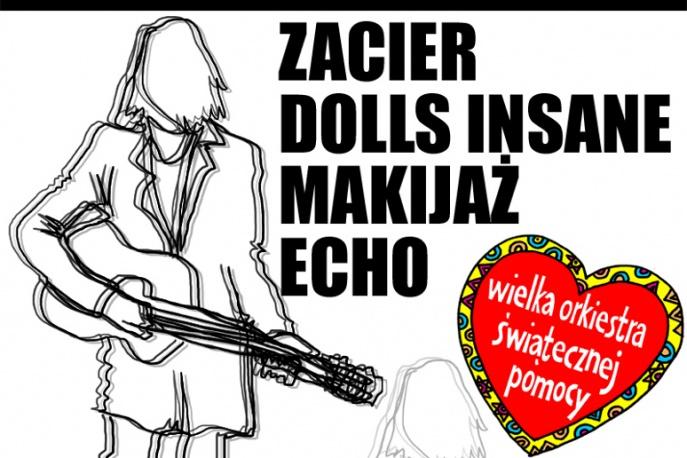 Koncerty WOŚP w warszawskiej Herezji