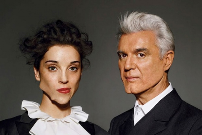David Byrne i St. Vincent wystąpili w TV – video