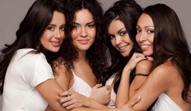 Siostry Bruno Marsa idą w ślady brata – video