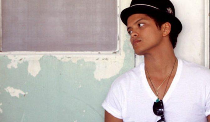 Bruno Mars nakręcił teledysk – video