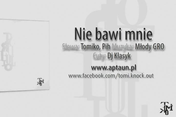 """Tomiko – """"Nie bawi mnie"""" (feat. Pih) – audio"""