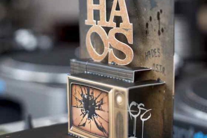 "Trójwymiarowa okładka albumu ""HAOS"""