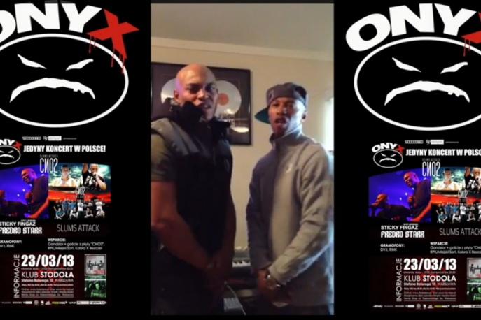 Onyx zapowiadają koncert ze Slums Attack (VIDEO)