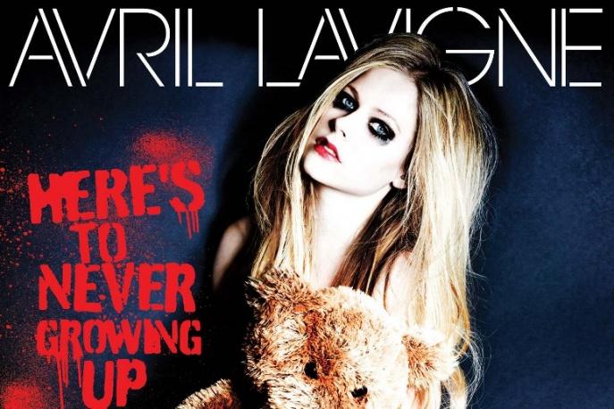 Avril Lavigne nago na okładce singla