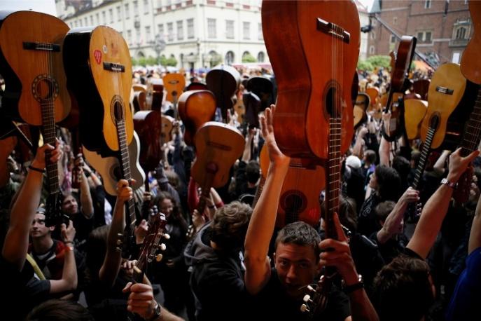 Gitarowy Rekord Guinnessa 2013 już za kilka dni!