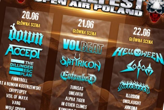 MetalFest 2013 – Onslaught zamyka skład