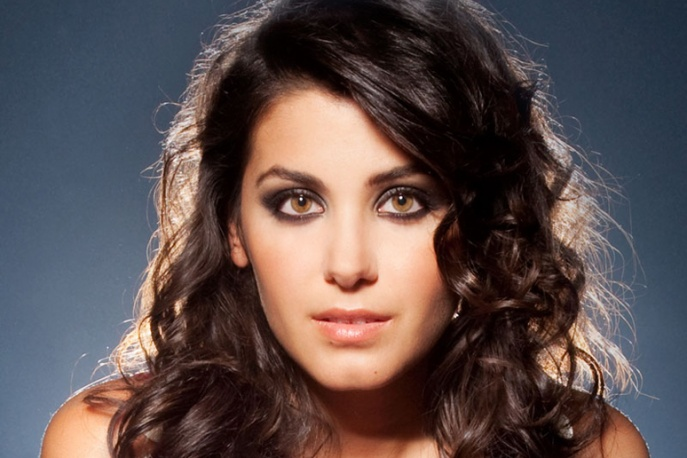 Katie Melua na gali Coronation Festival