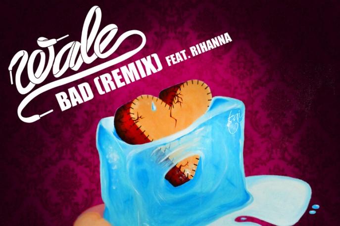 Rihanna gościnnie u Wale (audio)
