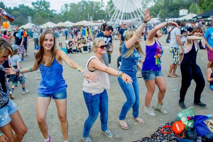 Polacy na Sziget Festival