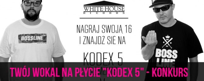 """Twój wokal na płycie """"Kodex 5"""" – konkurs"""