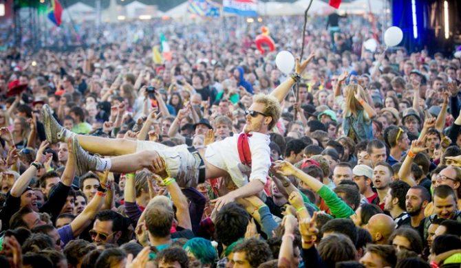 Z Sziget Festival w kosmos