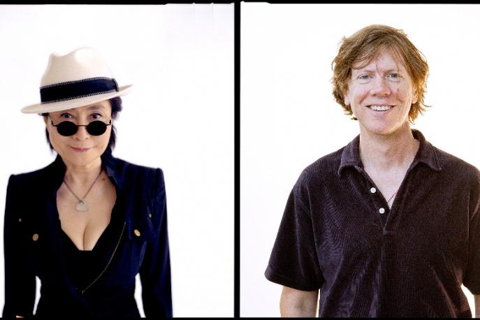 Yoko Ono i Thurston Moore w Polsce