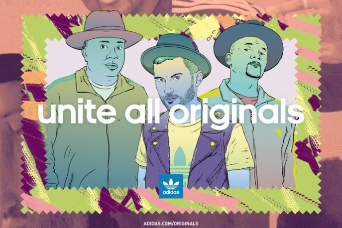Run-D.M.C. i A-Trak dla adidas Originals