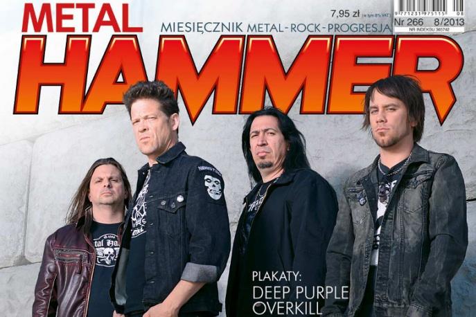 Sierpniowe wydanie Metal Hammera już w sprzedaży