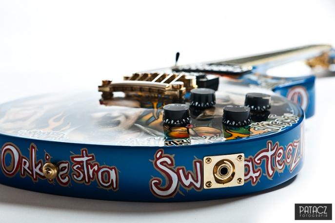 Unikatowa gitara na Przystanku Woodstock