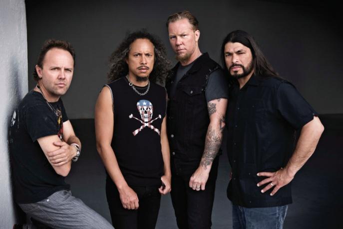 Metallica kręciła w Szanghaju