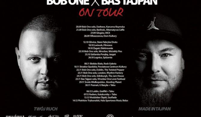 Bob One & Bas Tajpan: wspólny klip, wspólna trasa