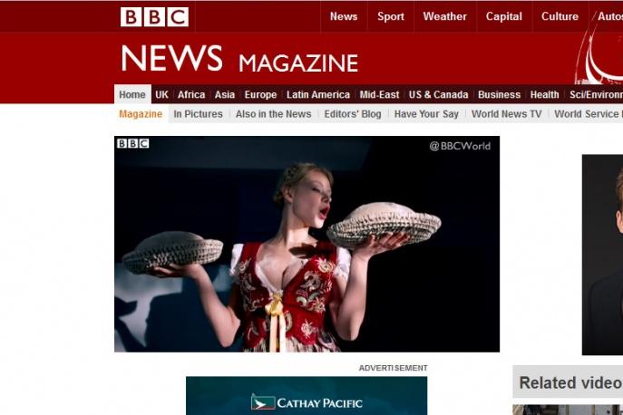 BBC pisze o Donatanie i Cleo