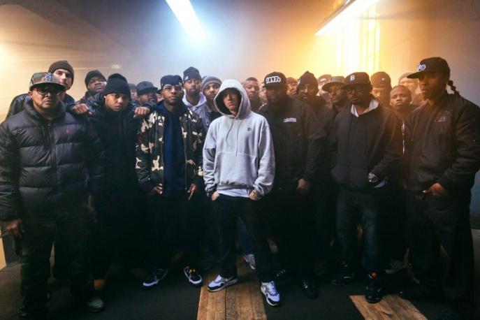 Eminem na żywo w studiu BBC (wideo)