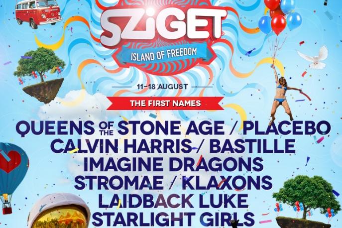 Sziget Festival 2014 – znamy pierwsze gwiazdy