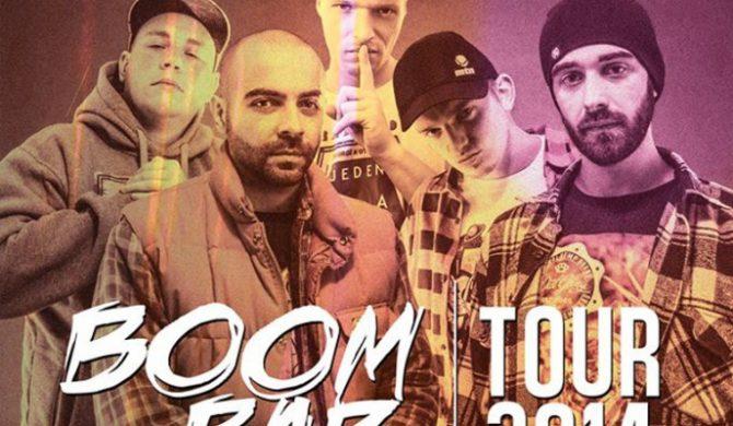 Boom Bap Na Rejonach – zobacz rozpiskę trasy