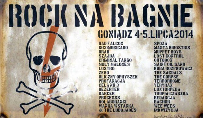 Rock Na Bagnie – poznaliśmy pełny line-up imprezy