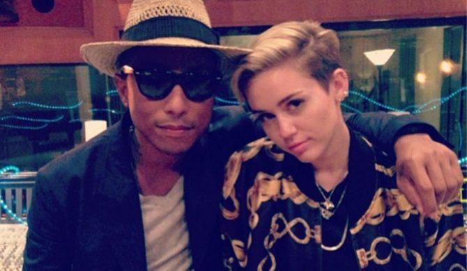 Kawałek Pharrella i Miley wyciekł do sieci. Posłuchaj