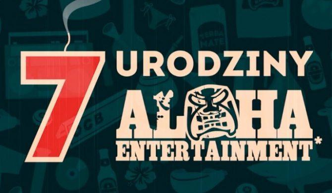 Oficjalna zapowiedź 7 urodzin Aloha Ent.