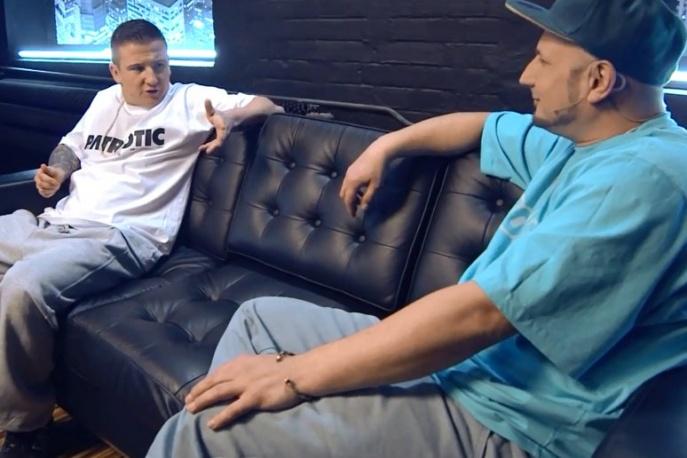 """Bezczel w """"Raptime Live"""" (wideo)"""