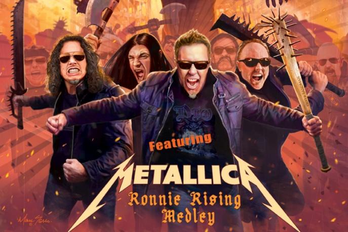 Metallica w hołdzie Ronniemu Jamesowi Dio