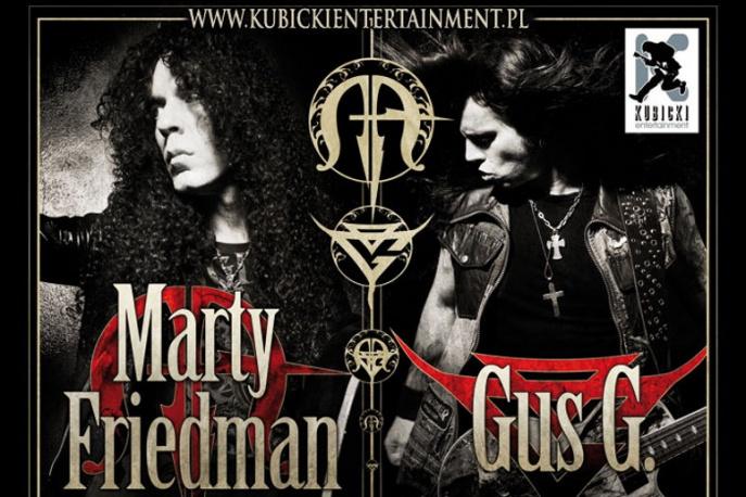 Marty Friedman i Gus G na koncertach w Polsce
