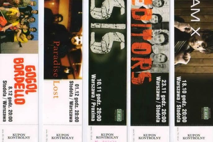 Kolekcjonerskie bilety od Go Ahead