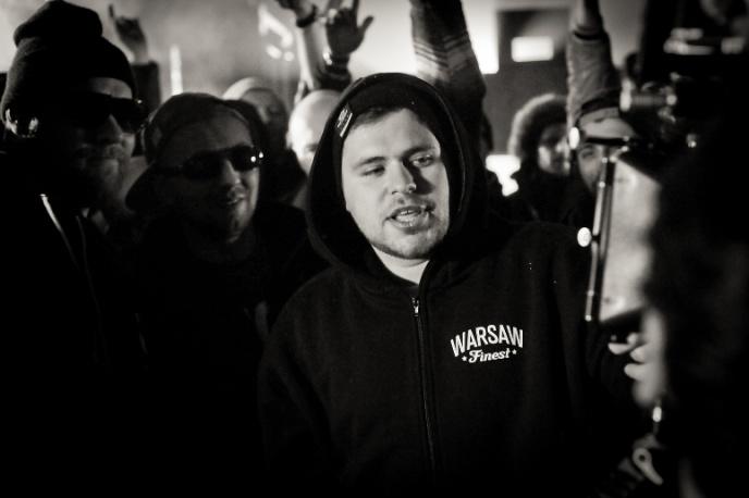 Kosi, Numer Raz, Diox i JWP na oficjalnym Warm Up Party festiwalu The Wall Warsaw Hip-Hop