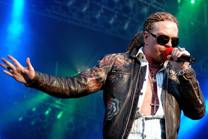 Koncert Guns N` Roses w 3D