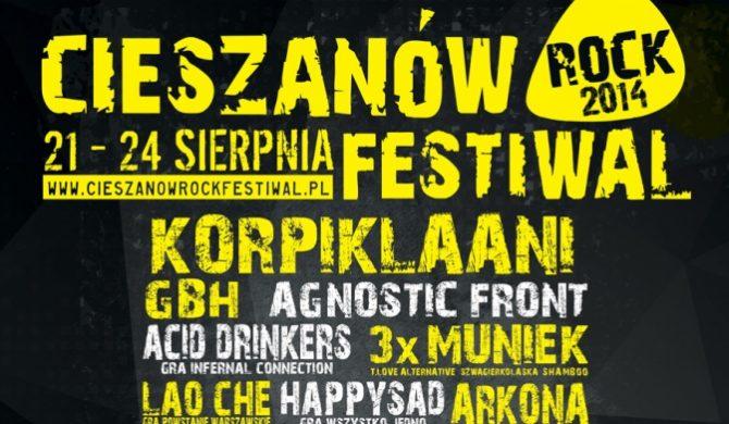 Znamy ostateczny program Cieszanów Rock Festiwal
