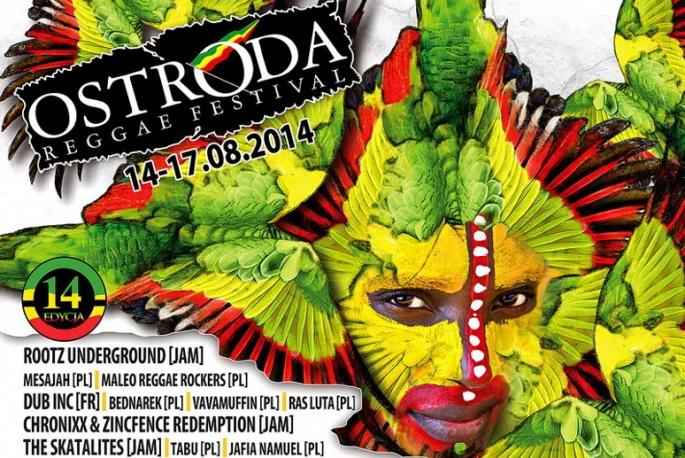 Ostróda Reggae Festival: program Yellow Stage i Red Bull Tour Bus Stage