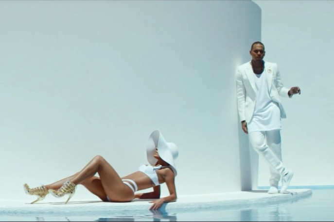 "Chris Brown – ""New Flame"" ft. Usher & Rick Ross (wideo)"