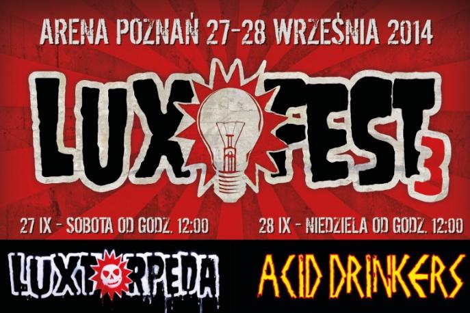 """LuxFest: Acidzi zagrają """"Are You A Rebel?"""" w oryginalnym składzie"""