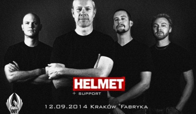 Helmet i Negative Approach wystąpią w Krakowie