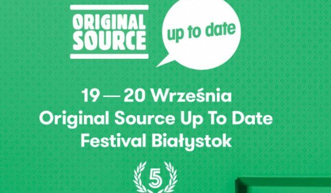 Znamy rozpiskę Original Source Up To Date. Istotna zmiana w line-upie