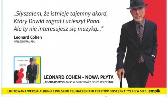Leonard Cohen w warszawskim metrze