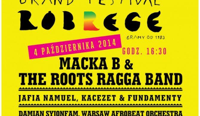 Grand Festival Róbrege już za dwa tygodnie