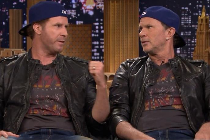 Muzycy Pearl Jamu, RHCP i Gunsów wystąpili z Willem Ferrellem (wideo)