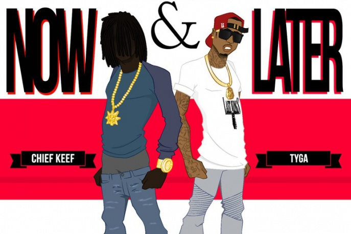 "Chief Keef – ""Now and Later"" ft. Tyga (audio)"