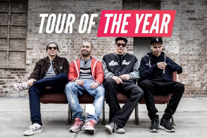 "VNM x Kuba Knap x W.E.N.A. x Kuban – ""Tour of the Year"" (wideo)"