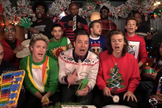 One Direction świątecznie u Fallona (wideo)